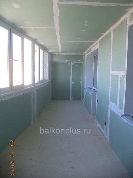 Утепление балконов и лоджии в Челябинске.