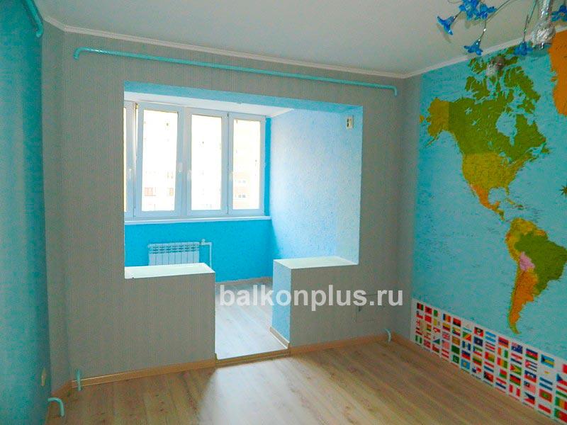 Объединение или соединение балкона и лоджии с комнатой в Чел.