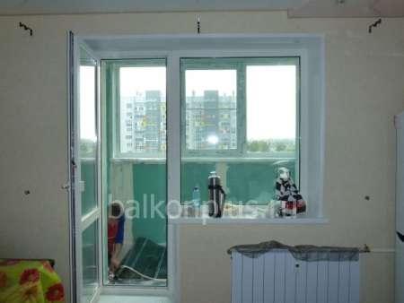 Отделка балконов и лоджий в екатеринбурге под теплую комнату.