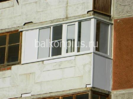 Фото отделки балконов и лоджий компанией теплый балкон отдел.