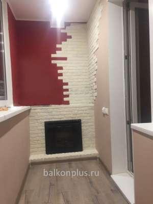 Цена утепления этой лоджии по улице Салавата Юлаева составила 75 000 руб.