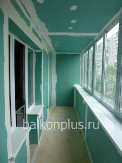 Отделка балконов гипсокартоном в Челябинске и Екатеринбурге