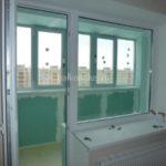 Утепление балкона в доме 121-й серии. Челябинск. 2016 год