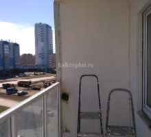 До утепления балкона. Челябинск. Парковый