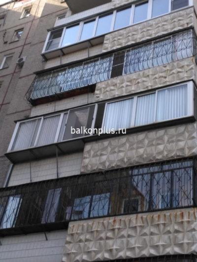 Остекление и утепление лоджии с балконом в Челябинске в сентябре 2018 г.