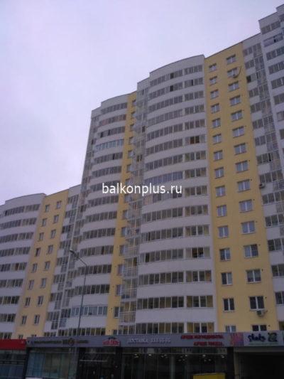 Отделка лоджии в Екатеринбурге в ноябре 2018 г.