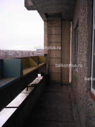 Остекление лоджии ПВХ и ее утепление. Район ЖБИ, Екатеринбург