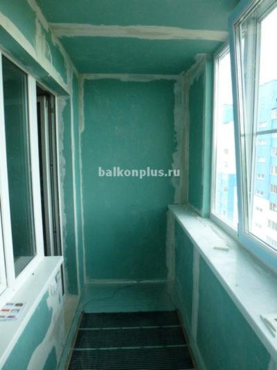 Настоящее утепление балкона. Челябинск. Р-н Парковый