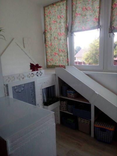 Отделка балкона под обои. Ул. Завалишина, 2017 год