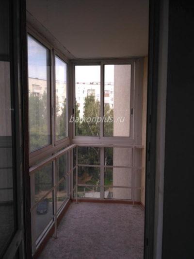 Цена отделки балкона в монолитном доме от 90 000 руб