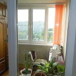 Швейная мастерская на теплом балконе. Челябинск. 2012 год