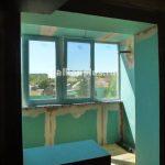 Утепление балкона с выводом трассы кондиционера