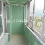 Балконы с отделкой гипсокартоном вид 329