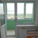 Балконы с отделкой вид 332