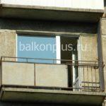 Балкон в малосемейке перед началом работ